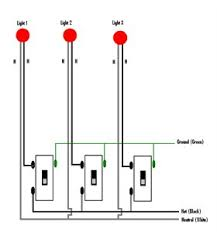 circuit diagram for 2 way 2 gang light switch 2 lights fixya 3 lights to 3 gang switch