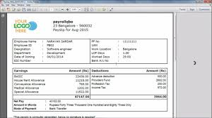 Online Payslip Template Pay Slips View Download And Print In QuickBooks Payroll YouTube 10