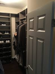 new closet system with shoe racks