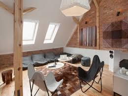 historic modern wood furniture. Modern Attic Loft Apartment Historic Wood Furniture W