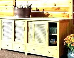 plastic outdoor storage cabinet. Outdoor Wicker Storage Cabinet Plastic  Resin Buffet O