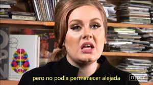 adele someone like you live subtitulado en español