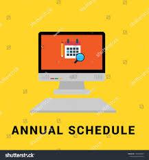 Graphic Design Timetable Timetable Schedule Graphic Concept Calendar Pencilpc Stock
