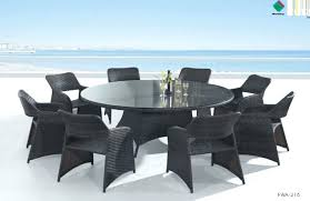 dining tables outdoor round dining table for 8 patio sets