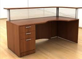 custom wood office furniture. Reception Furniture - IOF#6 Custom Wood Office N
