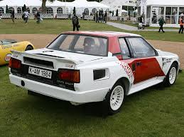 Toyota Celica (A60) Twin-Cam Turbo Group B 1984