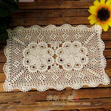 rectangular dining table cover cloth knitted vintage: wholesale free shipping cotton crochet sofa armrest cover lace doilies nostalgic vintage  cotton decoration dining table mat cover vintage dining tables