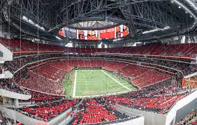 Atlanta United Seating Chart Mercedes Benz Mercedes Benz Stadium Atlanta Falcons Football Stadium