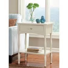 alaterre furniture shaker cottage sand storage end table
