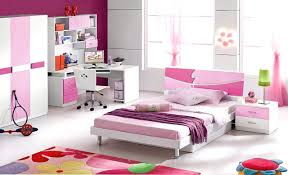 Purple Painted Bedroom Nice Purple Children Bedroom Sets With White Ceramic Floor And