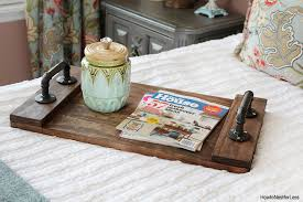 DIY wood tray tutorial