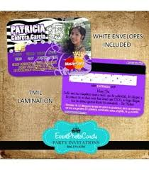 Credit Card Party Invitations Credit Card Invitations Credit Card By Invitation Only Malaysia