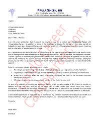 Nurse Cover Letter Sample in Nursing Cover Letter Sample