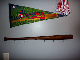 Baseball Bat Coat Rack DoItMyself Crafts Baseball Bat Coat Rack 1