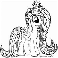 Kleurplaat Pony Elegant Kleurplaat My Little Pony Luna Archidev