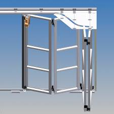 the door face consists of individual freely movable door horizontal sliding garage door hardware