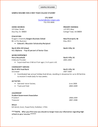 Sample College Resume Creative Pre College Resume Template Sample Resumes Career 34