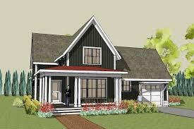 Hudson Farmhouse Plan, Unique Farmhouse Home Design