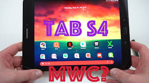 Samsung Galaxy Tab S4 Specs Leaked: iPad Competitor 2018? - YouTube