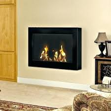 wall mounted gel fireplace image of interest fuel paramount small mount natural gas round wall mount fireplace