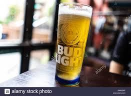 Bud Light Glass Light Up Bud Light Beer Stock Photos Bud Light Beer Stock Images