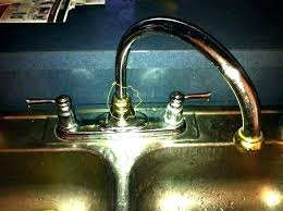Leaky Kitchen Faucet Kitchen Faucet Leaking Under Sink Usaaroutingnumber Info