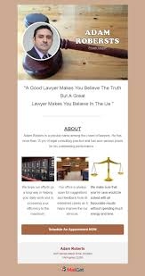 Law Templates 5 Free Email Templates For Lawyers Law Firms 2019 Mailget