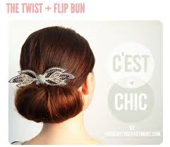 20 the twist and flip bun the twist and flip bun another great hairstyle