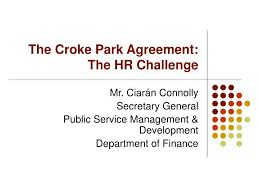 Ppt - The Croke Park Agreement: The Hr Challenge Powerpoint ...