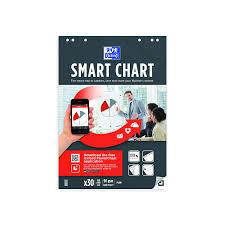 Oxford Smart Flipchart Frame Ruled Square 25mm Pack Of 3