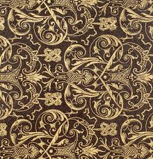 Textile Patterns Mesmerizing Vintage Textile Pattern Painting By French School