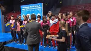 award ceremony women s team event