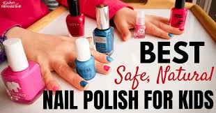 best safe natural nail polish for kids
