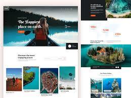 Tourism Web Design Inspiration Travel Landing Page By Saiful Khan Design Inspiration