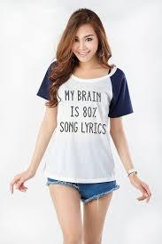 T Shirt Funny Shirts for Teen Girl Gifts Text Shirt Grunge Tumblr Tees  Raglan T Shirt