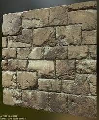 ArtStation - Limestone Wall Study, Myles Lambert | Limestone wall,  Limestone, Wall