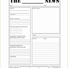 Newspaper Template Google Docs Newspaper Template For Google Docs Magdalene Project Org