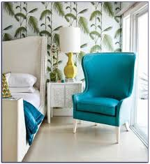 furniture interesting mint green accent chair with wallpaper and white sofa plus white side table and table lamp for interior design ideas interesting mint green accent chair for 680x742