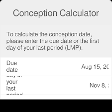 31 Day Menstrual Cycle Chart Conception Date Calculator When Did I Conceive Omni