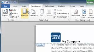 ways to insert a custom header or footer in microsoft word