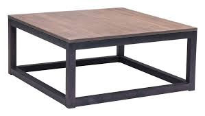 two tone square coffee table modern civic center inch square distressed coffee tab table black wood