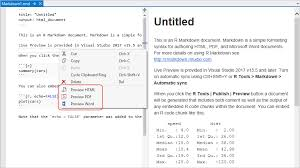 Free Menu Templates For Microsoft Word Gorgeous R Markdown Visual Studio Microsoft Docs