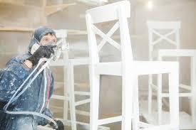 airless spray painting