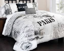 black and white comforters sets