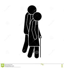People Walking Design Stock Vector Illustration Of Cardio 79953988