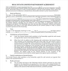 Legal Partnership Agreement Template Free Business Partner Agreement ...
