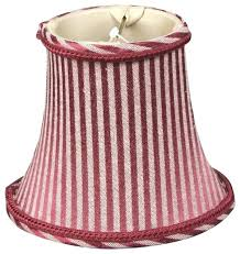 red and gold lamp shades white striped shade as well for design 18