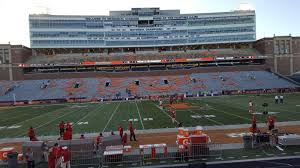 University Of Illinois Football Seating Chart Memorial Stadium Champaign Interactive Seating Chart