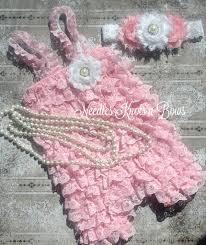 Baby Girls Pink White 1st Birthday Outfit Birthday Cake Smash Set