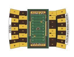University Of Wyoming Football Stadium Seating Chart Uw Hosting Stripe Out At Missouri Game University Of